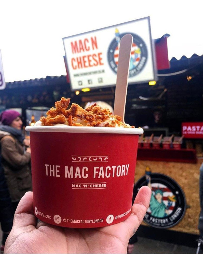 The Mac Factory London's Best American Food with Deliveroo