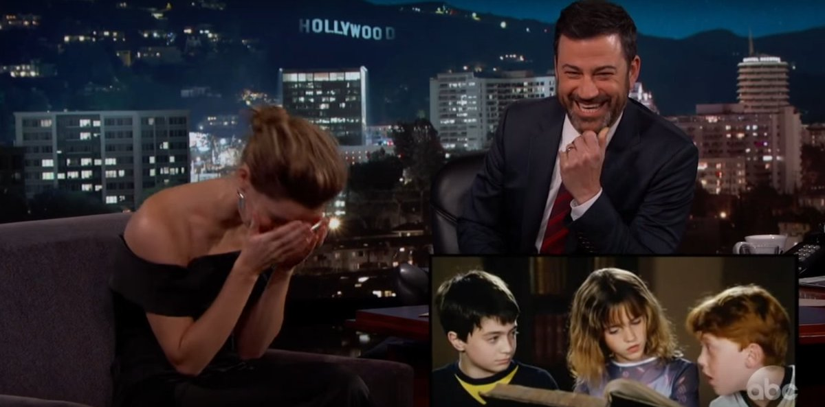 "Emma Watson cringes after watching a Harry Potter outtake: ""I was such a loser."""