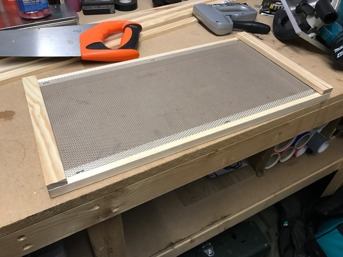 Homemade boilie <b>Drying</b> table in progress!! #CarpFishing #ccmoore https://t.co/cEq2vYk8dS