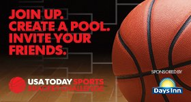 Join in the college basketball fun! Create a pool now:
