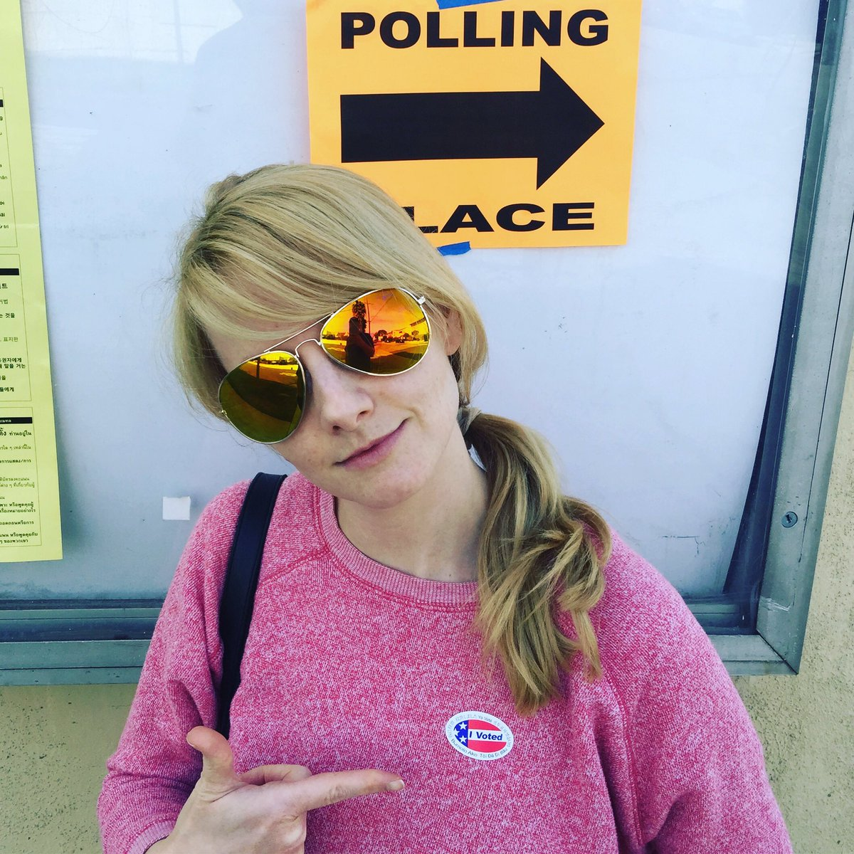 California! If you're eligible to vote today, get out there and rock it locally! ????????????????????????https://t.co/1b12ClDUwW https://t.co/jxY7EBkFgO