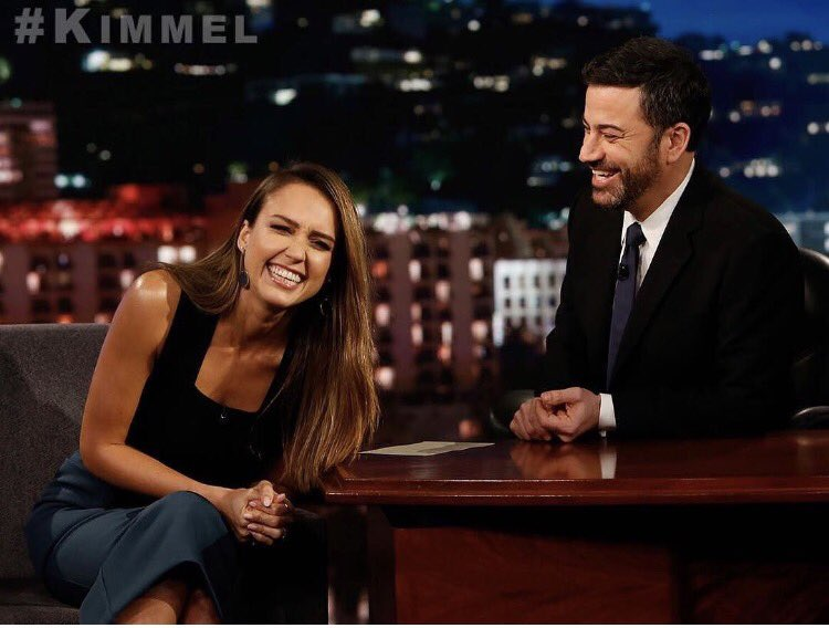 Had so much fun talking @Honest and #honestmoments with @jimmykimmel. Watch TONIGHT on @JimmyKimmelLive! https://t.co/hi6gaihpwV