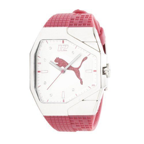 New #fashion #watches #win #style #giveaway #np PUMA Women's PU910572007 Track Pink and White Dial Watch #rt