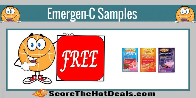 **FREE** Emergen-C Samples!free freebies freebie freesamples