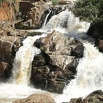 Enjoy cool breeze around Nabuyole falls