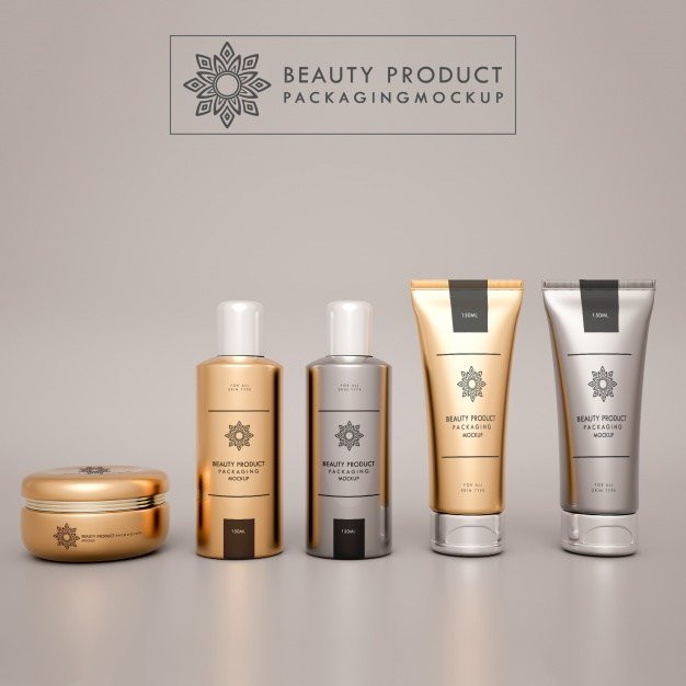 Cosmetics mock up design cosmetics free freebie freebies mockup