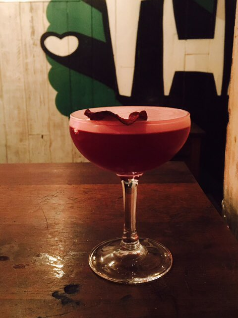 'Hey Ladies' beetroot cocktail - Ask For Janice London's Best Cocktails to Cure Your Hangover