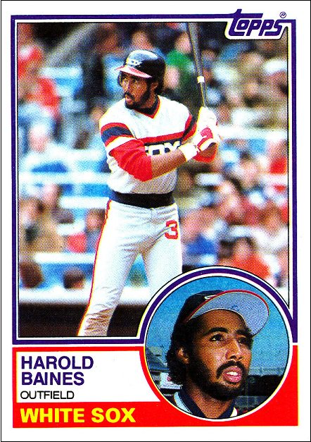 Happy Birthday Harold Baines and shout out to those old school White Sox uni s with the number on the pants