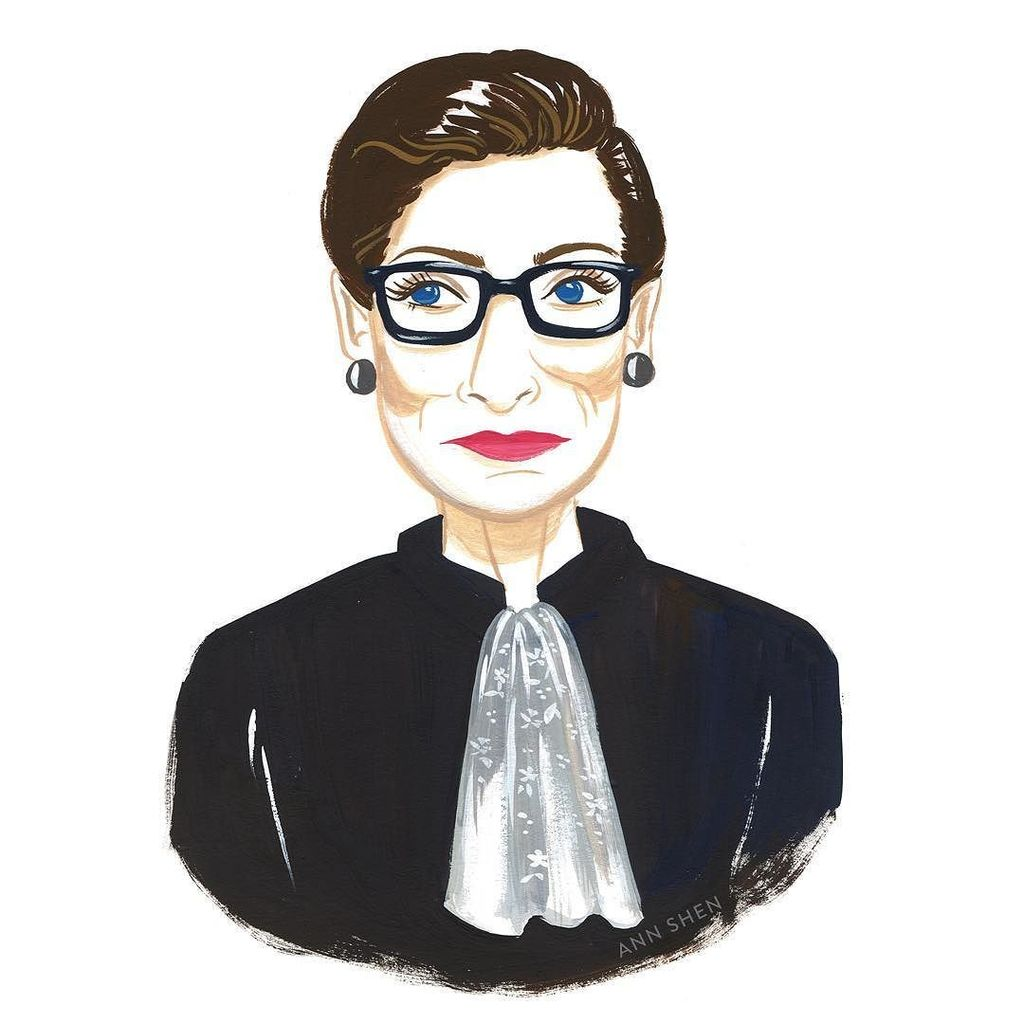 Happy birthday, Justice Ruth Bader Ginsburg! May you live forever in good health &