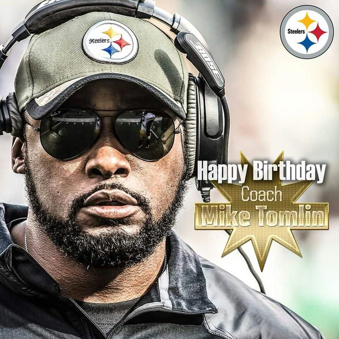 Happy Birthday Mike Tomlin!