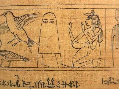 1枚目は古代エジプトのメジェド神。2枚目はクレイ・モーガン回でおなじみ三角袋チャイカだ。次に、同回にはフレドリカが魚をか