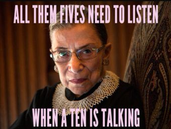 Happy birthday to my girl, Justice Ruth Bader Ginsburg!