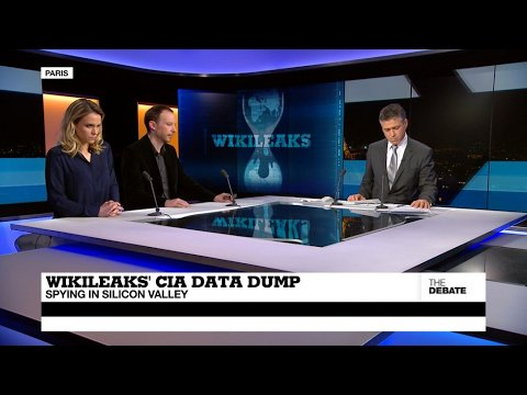 VIDEO -  Wikileaks' CIA data dump: spying in Silicon Valley (part 1)