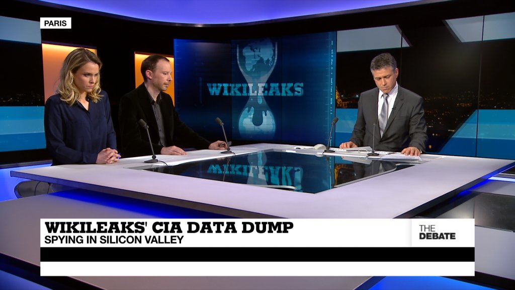 THE DEBATE - Wikileaks' CIA data dump: spying in Silicon Valley (part 1)