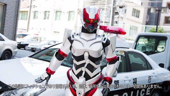 円谷プロに広報用スーツを作ってもらい舞台が吉祥寺&戦うお巡りさんということで武蔵野警察署とコラボその際にロケした