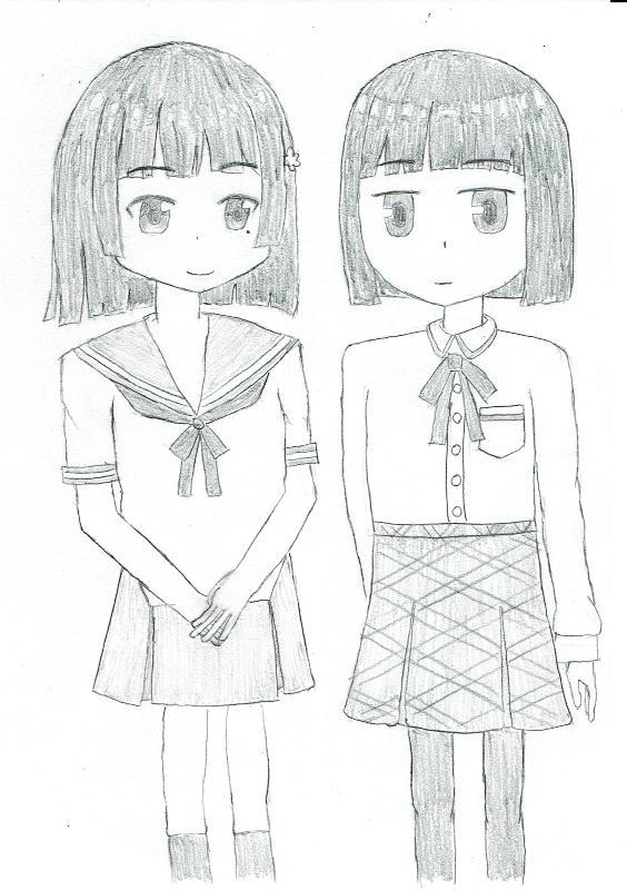 アイドルコネクトの 古風楓(CV:大森日雅) と、似てるようで似ていない魔法少女なんてもういいですから。の 坂上ちや(C