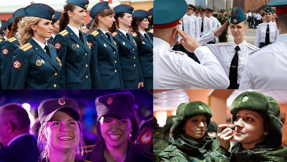 Russian Defence Ministry hold Women's Day beauty contest