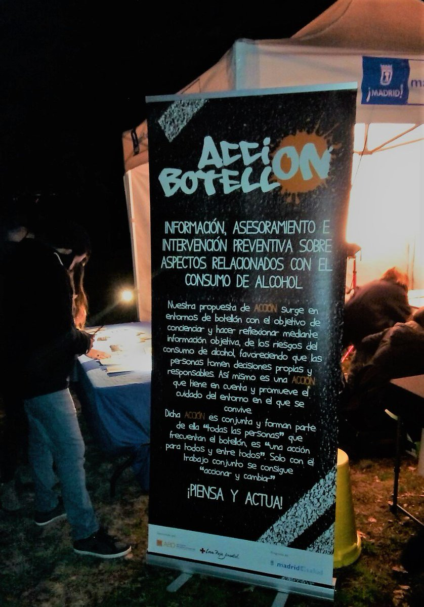 test Twitter Media - RT @sobredroga:  @ServicioPAD @CRJMadrid y @abd_ong ponen en marcha #AcciónBotellón para prevenir y reducir riesgos https://t.co/Nnnde9DLYk