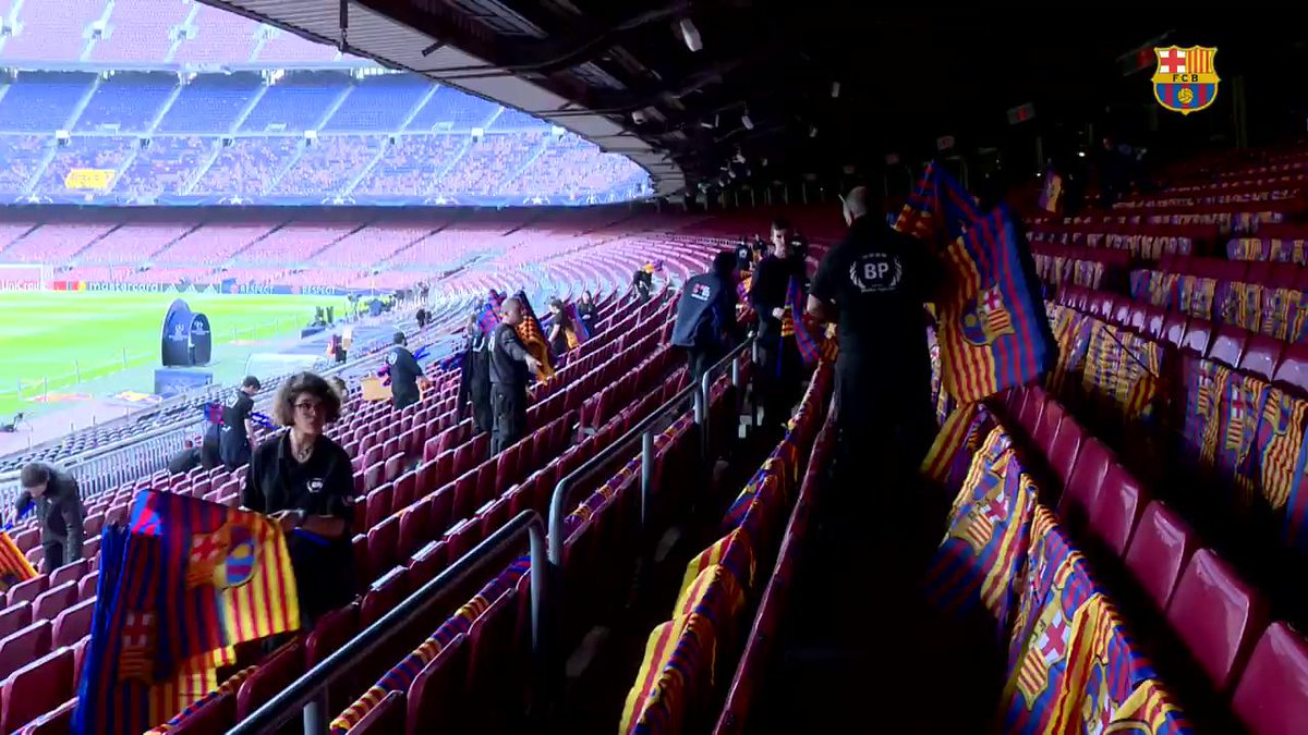 RT @FCBarcelona: ???????? 'Tots amb l'equip' ???????? #ForçaBarça #FCBPSG https://t.co/HGJxECCH7r