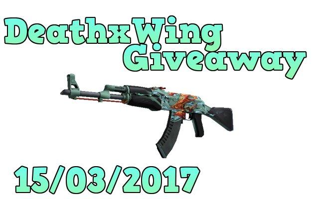 AK-47 AQUAMARINE REVENGE giveaway