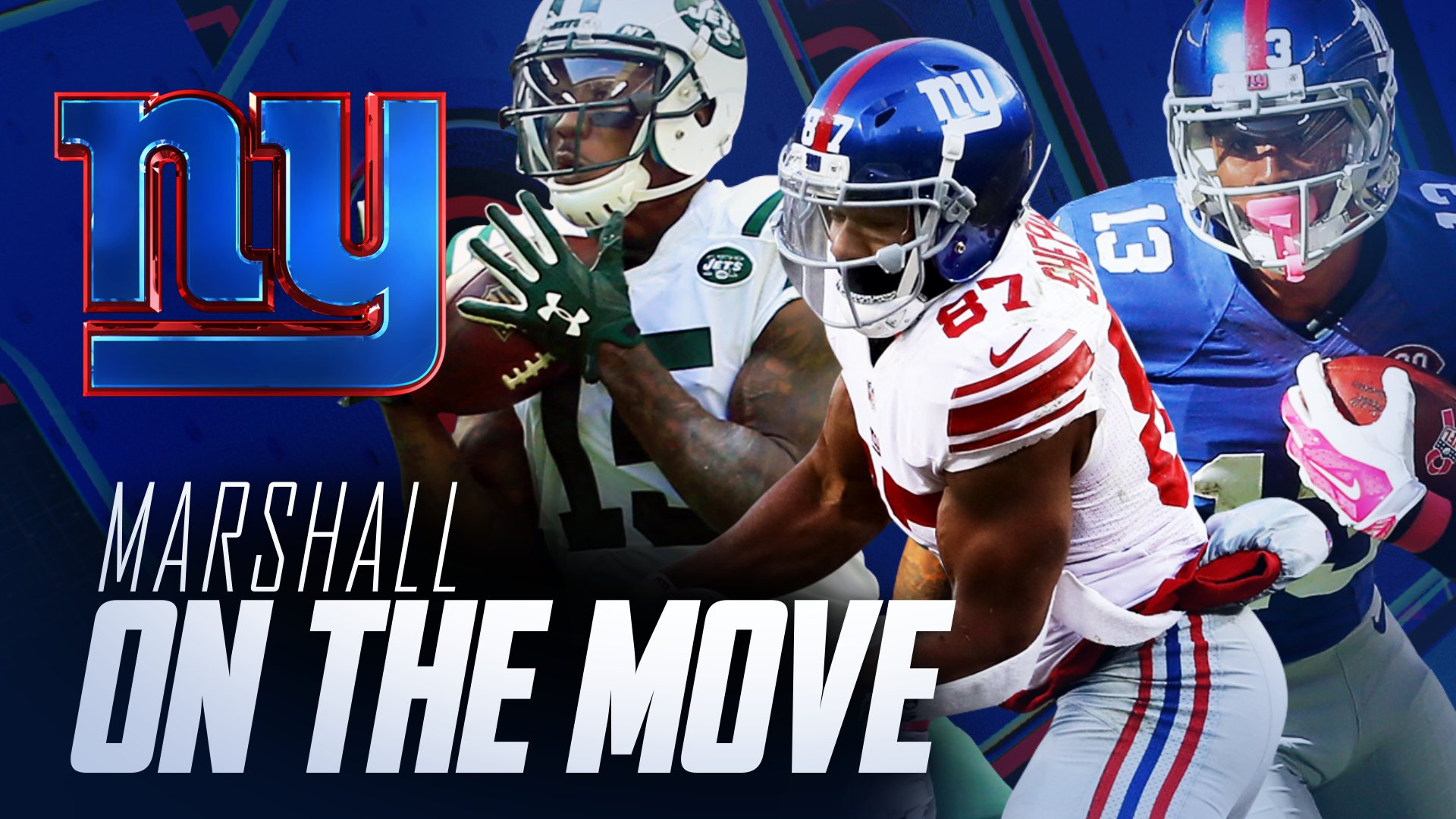 An early look at the new Giants WR corps... �� https://t.co/6HCO305lVq