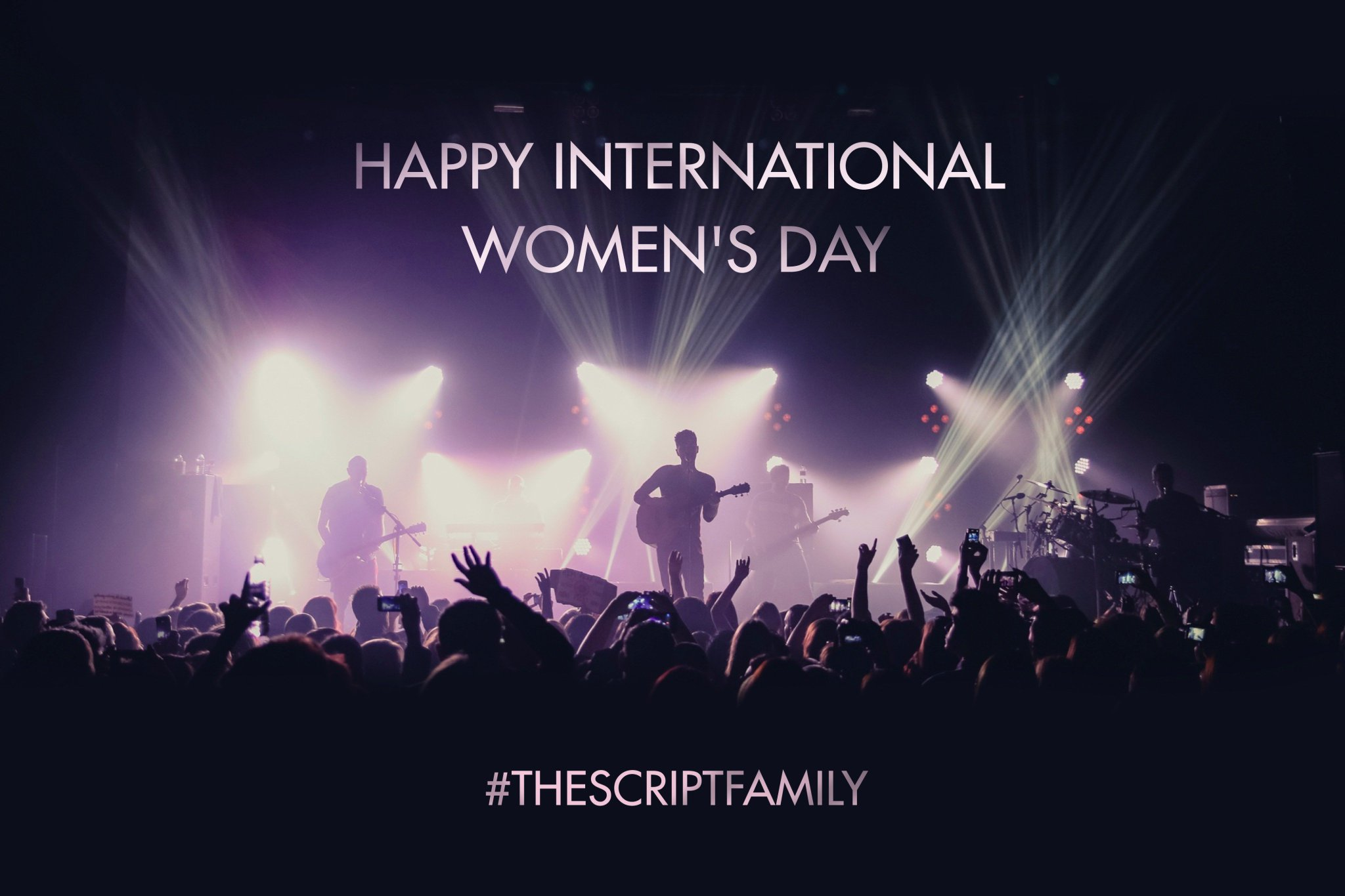 Happy #InternationalWomensDay #TheScriptFamily ! https://t.co/Vm7hCxCwiK