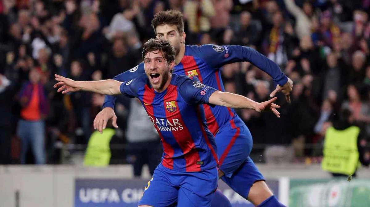 Remontada historica del Barça que le mete en cuartos con MAdrid, Bayern y Borussia