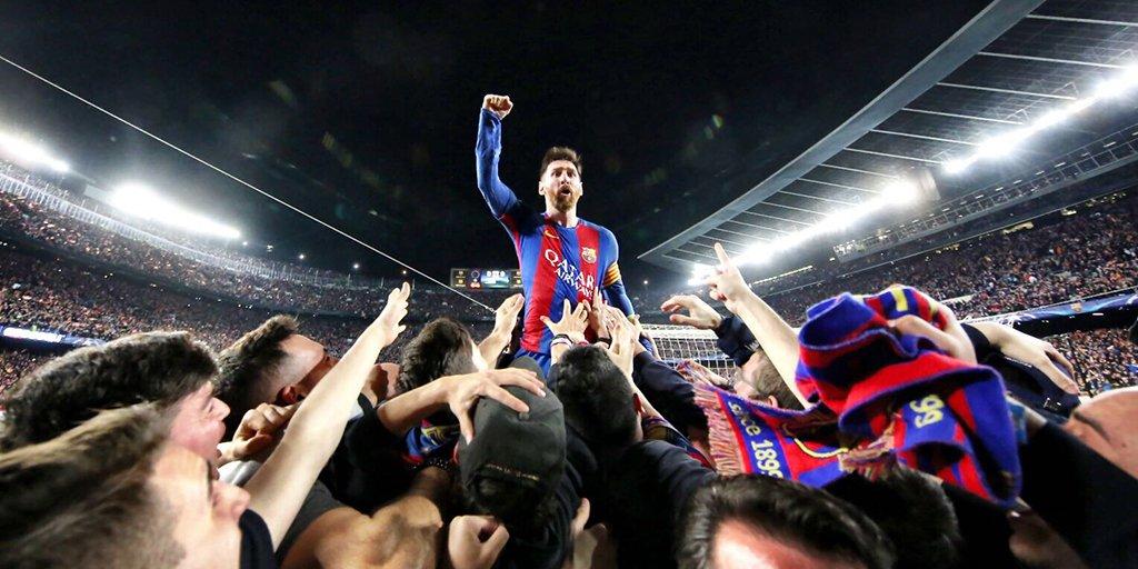 RT @FCBarcelona: This night was ... ???????? #ForçaBarça https://t.co/cpIXJwwVRr