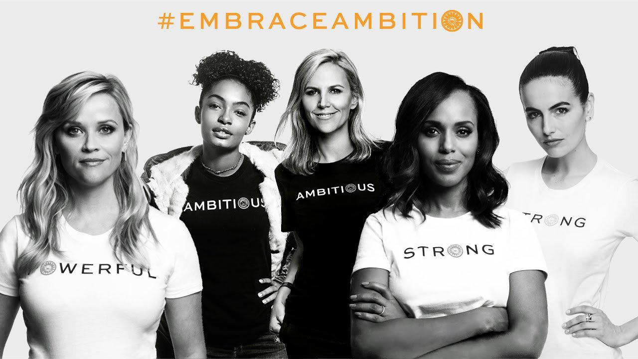 Take the pledge to #EmbraceAmbition with @ToryBurchFdn's crew of tough and powerful women. https://t.co/5ZALgaFr6D https://t.co/GPp4ehArD5