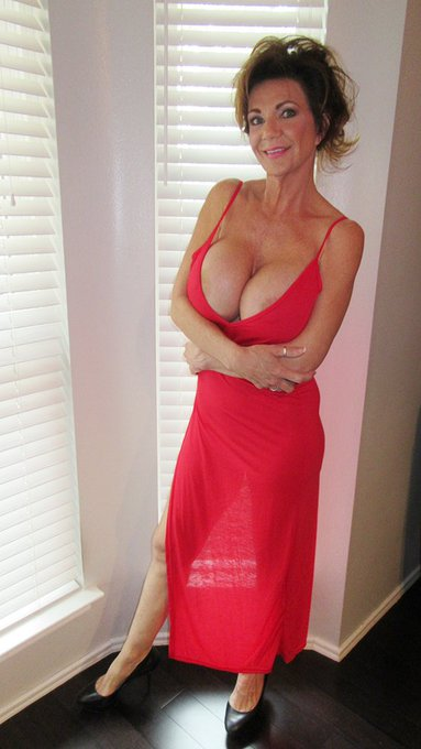 I just love this red dress, but the slit goes up the leg too far, may cut it off and make just a top
