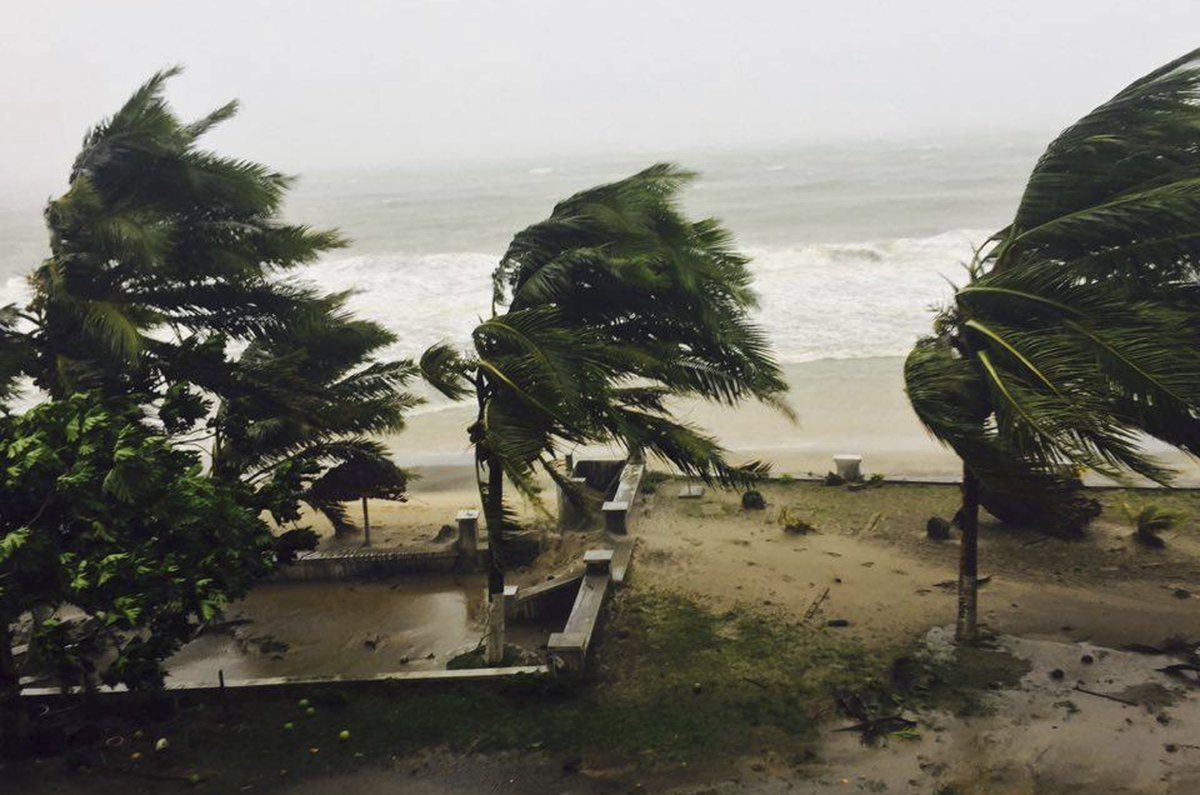 Cyclone slams into Madagascar, at least three dead