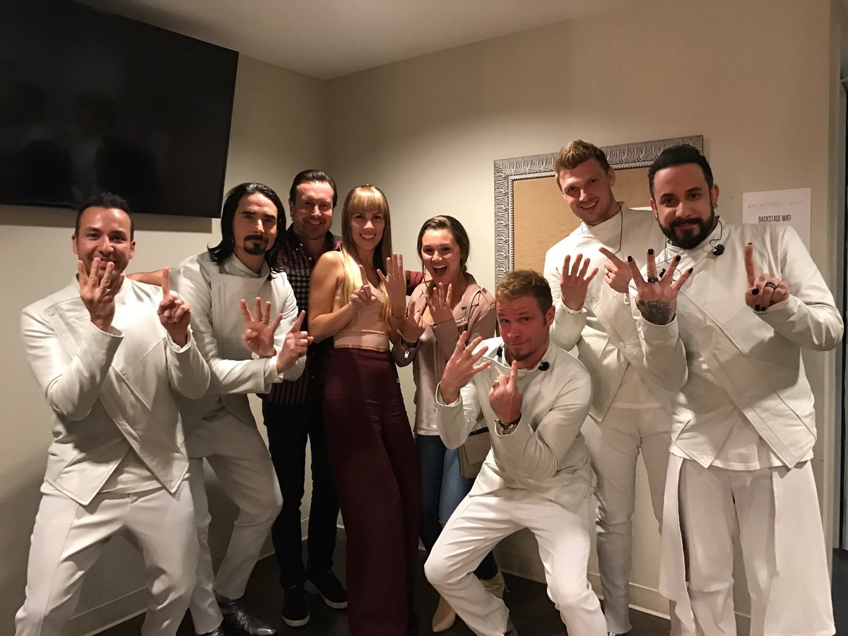 The sketch from the late late show sees james hit the stage as the sixth member of backstreet boys