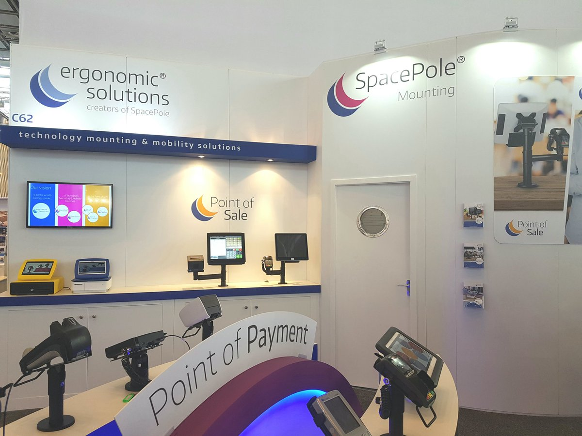 test Twitter Media - Static, Contactless or mobile payments? Visit Ergonomic Solutions for all your technology mounting requirements #euroshop2017 H6/C62 https://t.co/p4kQwSCoYR