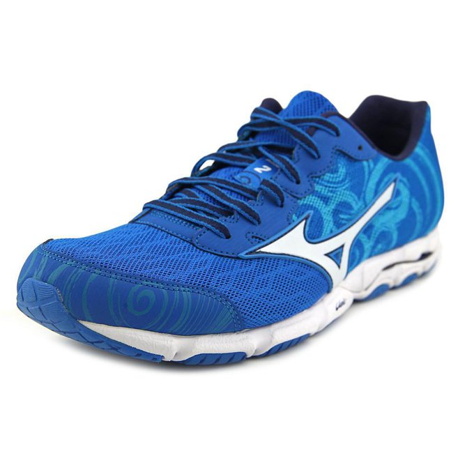 #fashion #style #giveaway Mizuno Wave Hitogami 2  Round Toe Synthetic Running Shoe #rt