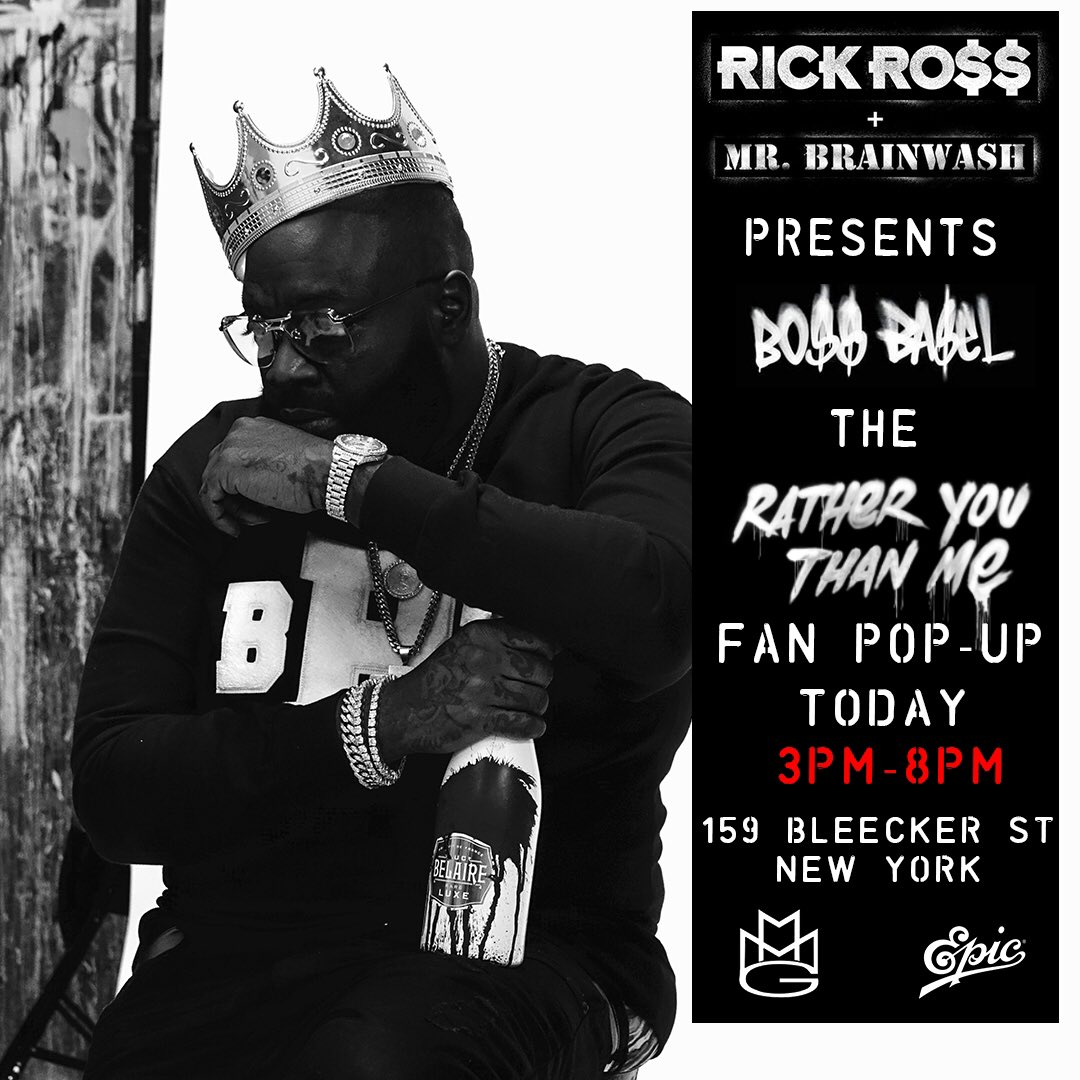 NYC�� Experience #BOSSBASEL today from 3PM-8PM‼ #RatherYouThanMe @rickyrozay https://t.co/xzcKxLHVTx