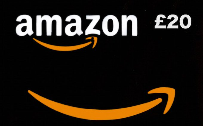 #GIVEAWAY – Get a Chance to Win a £20 Amazon Voucher