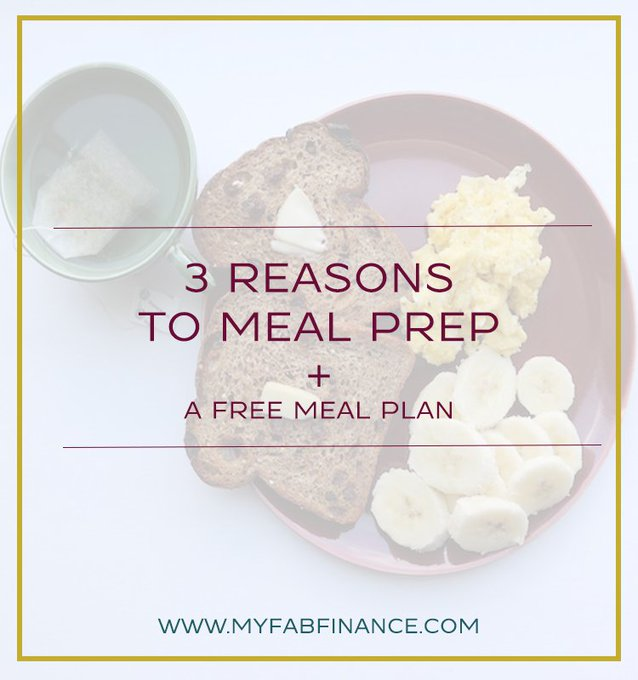 Want to Meal Prep but need help getting started? Check out my freebie.