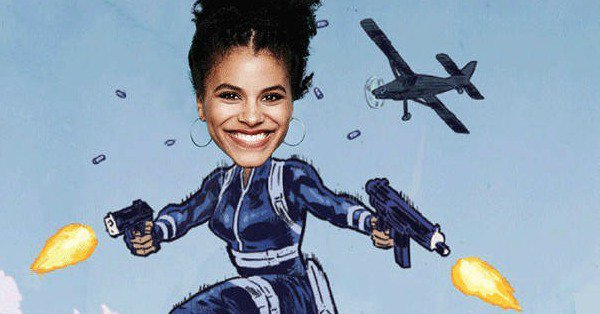 Ahh! Ryan Reynolds announced that Zazie Beetz will play Domino in the Deadpool Sequel: