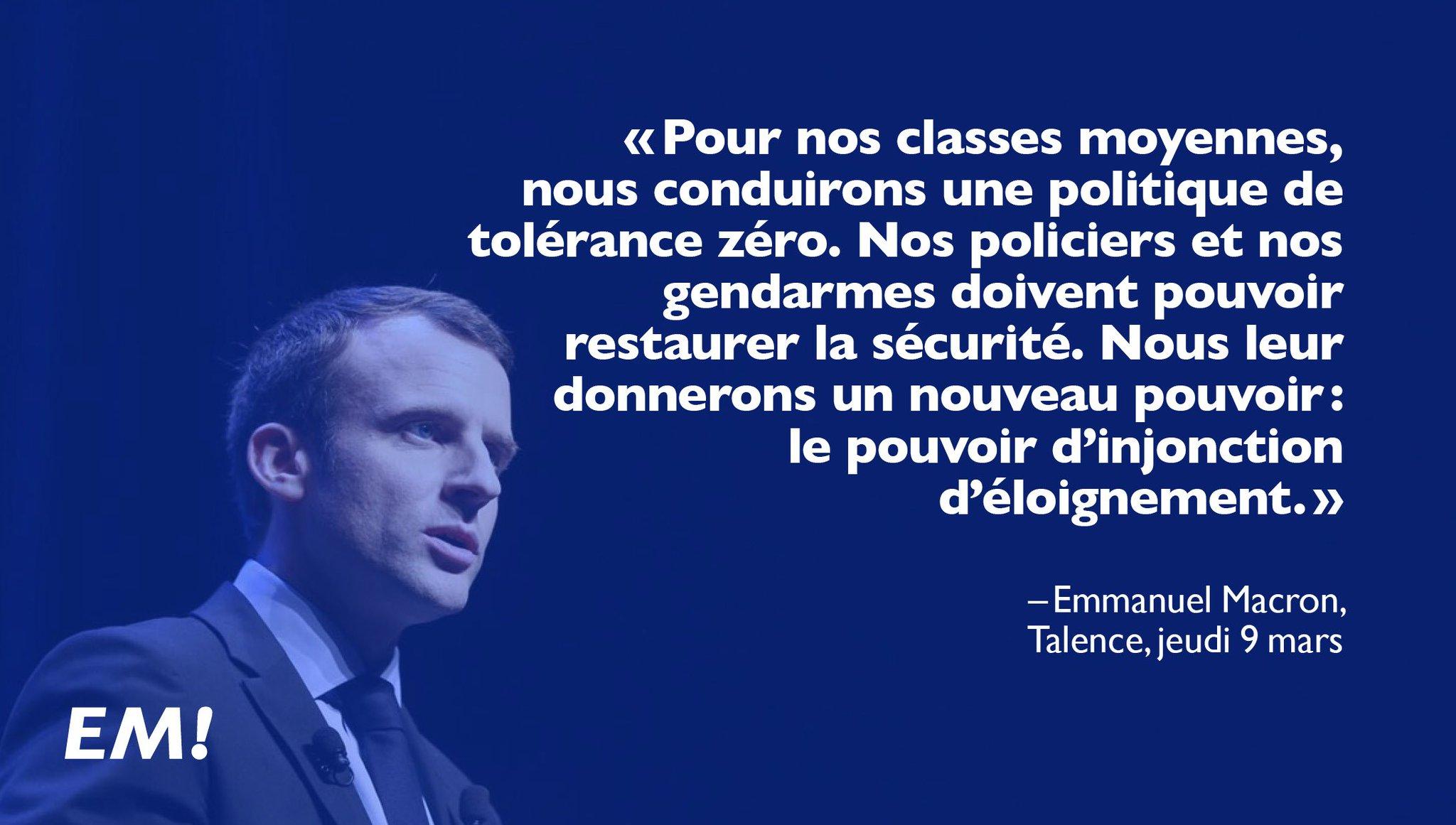 Nous conduirons une politique de tolérance zéro. La sécurité doit pouvoir être restaurée. #MacronGironde https://t.co/BeAgOQiJ6S