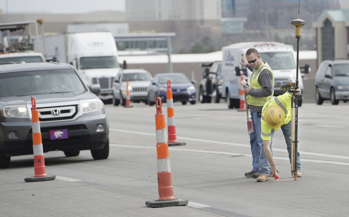 Stuck in traffic on westbound I-435 for Thursday morning rush hour? KDOT apologizes