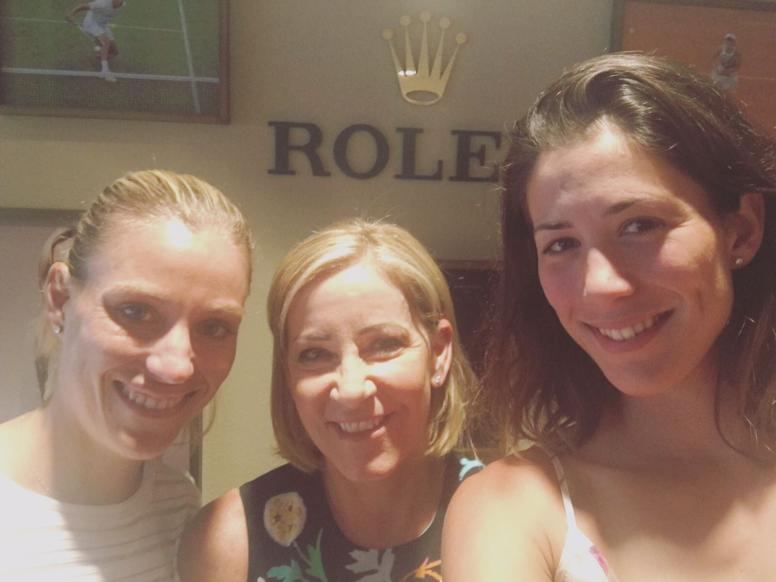 Inspiring afternoon with these two great ladies! @AngeliqueKerber @ChrissieEvert #EveryRolexTellsAStory https://t.co/TKD0a1GRqR