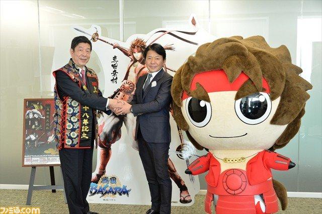 『戦国BASARA』真田幸村が観光振興に貢献、長野・上田市からカプコンに感謝状が授与