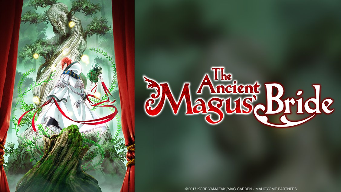 We proudly announce Studio WIT's The Ancient Magus' Bride TV anime, airing on Crunchyroll this October ✨ https://t.co/38FMRdEMH8