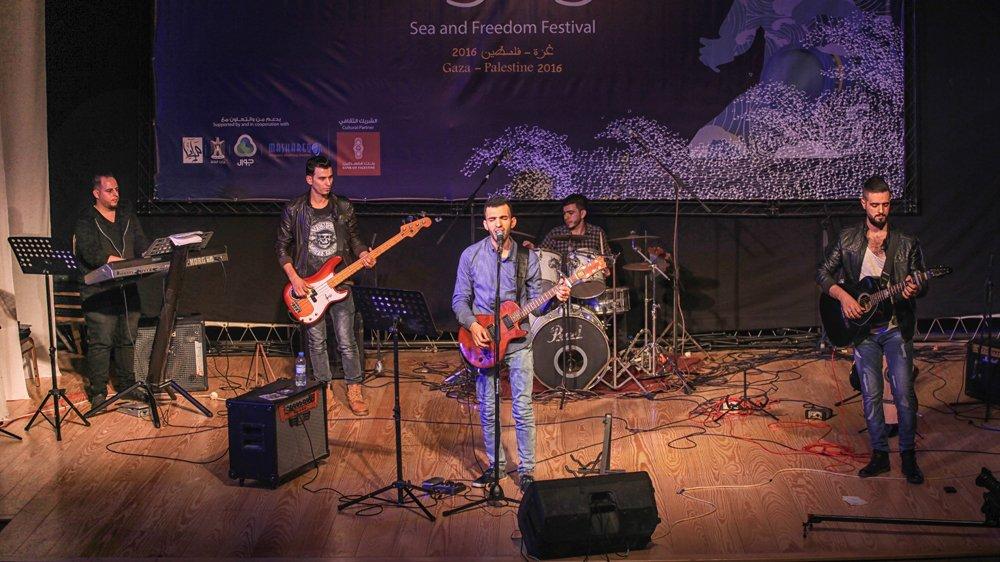 Palestinian rock band dreams of a brighter future