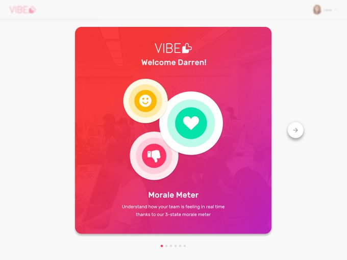 Vibe Onboarding   Mockup by Darren_Head freebie