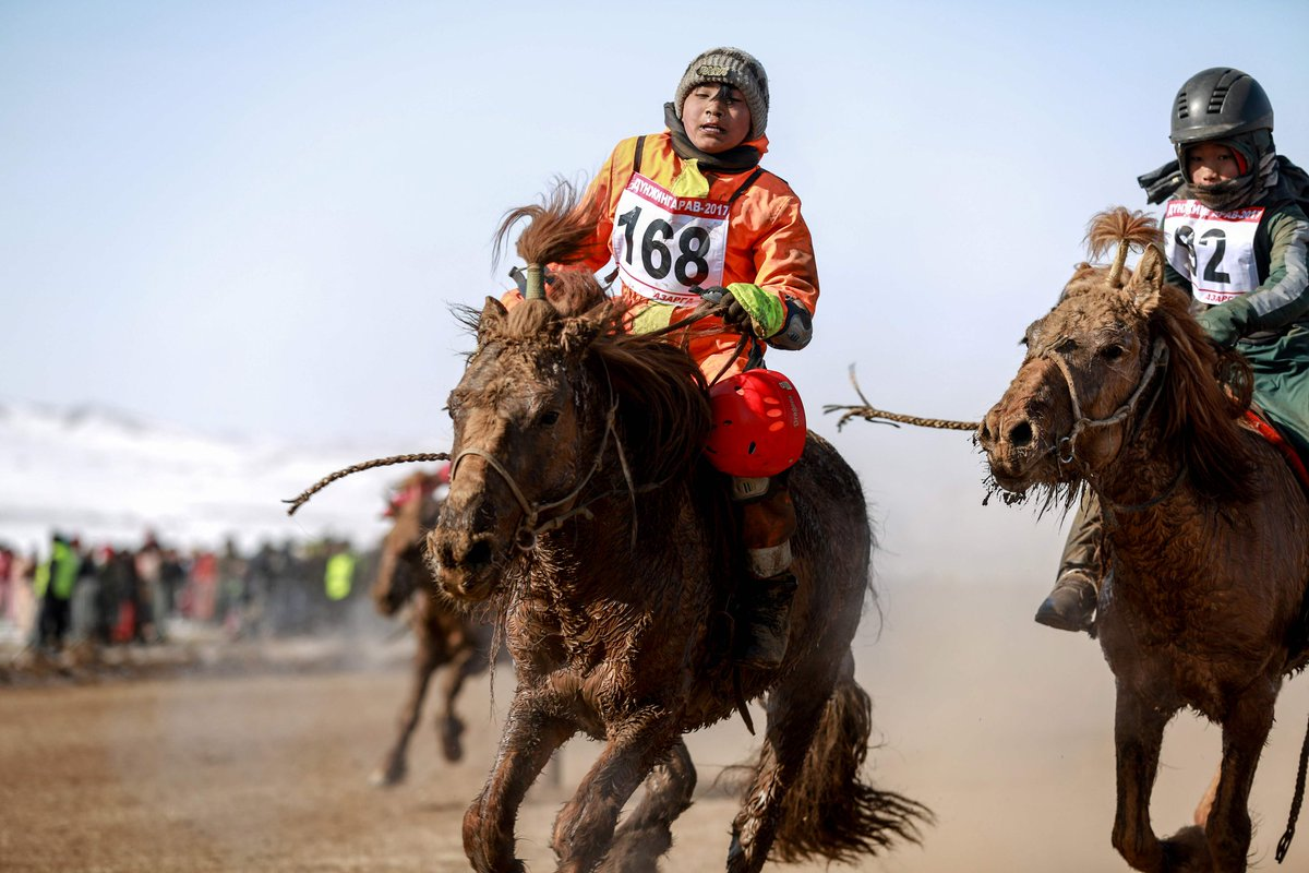 No joy ride: Mongolian child jockeys risk their lives in dangerous horse races despite ban