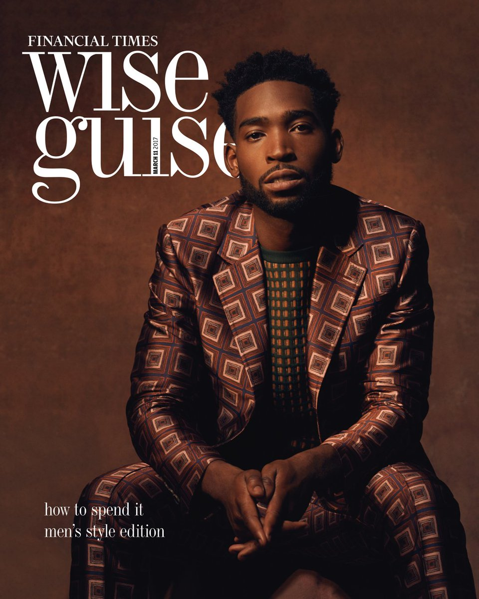 Spotted in Bally: @TinieTempah wears #BallySS17 jacquard suit on the cover of @htsi https://t.co/BhXvz9g58S https://t.co/uBX9Y4ilUN