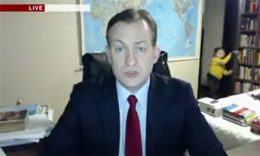 Watch this hilarious video of kids interrupting this BBC reporter's live interview: