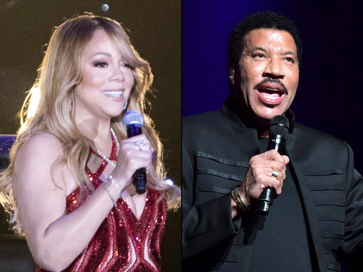 Lionel Richie and Mariah Carey announce rescheduled tour dates: