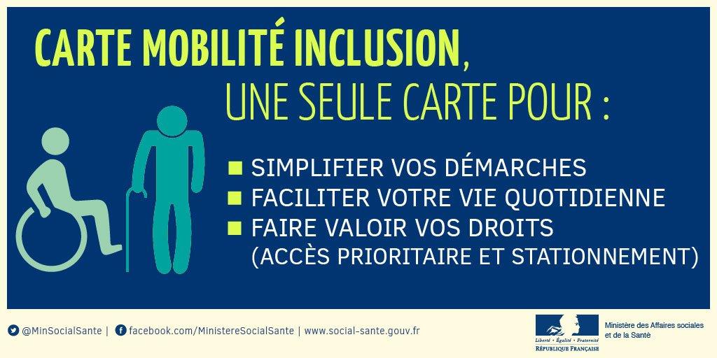 """Résultat de recherche d'images pour """"carte mobilité inclusion"""""""